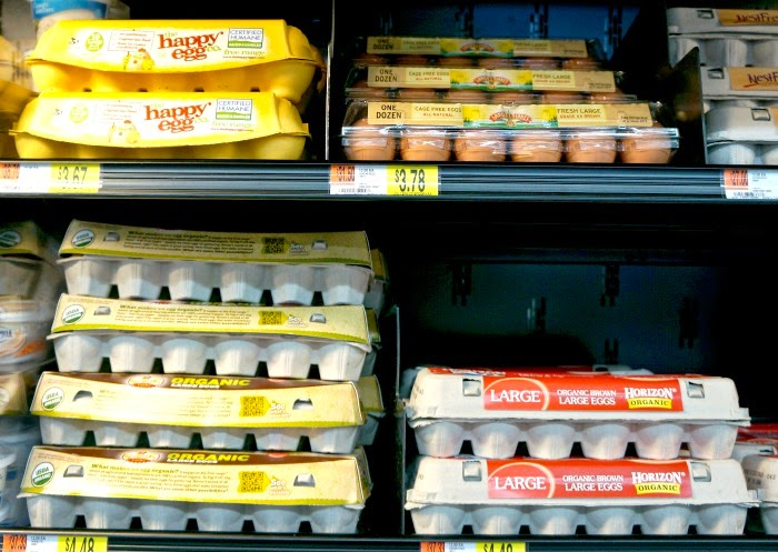 The Happy Egg company at walmart neighborhood market