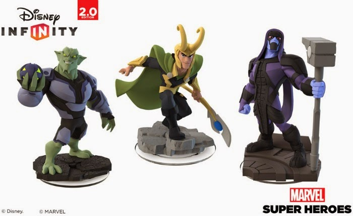Super Villains Come to Disney Infinity: Marvel Super Heroes (2.0 Edition)