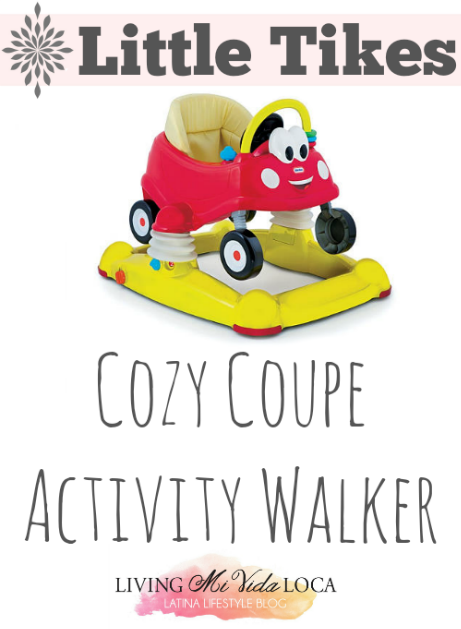 Little Tikes Cozy Coupe Activity Walker // #LittleTikes