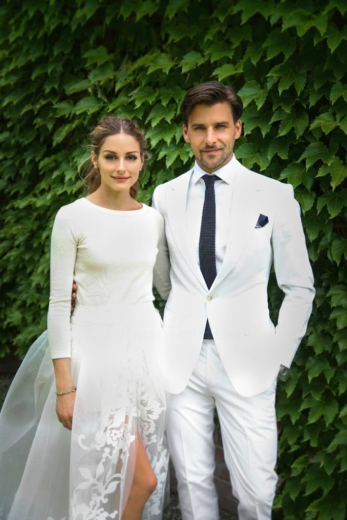 Olivia Palermo wears shorts to her wedding // livingmividaloca.com
