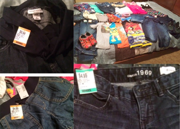 Savers Thrift Stores shopping haul // livingmividaloca.com