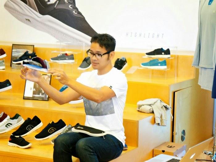 Rick Marmolijo shoe designer
