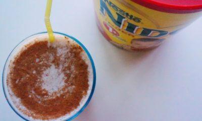 Smoothie recipe using powdered milk - livingmividaloca.com
