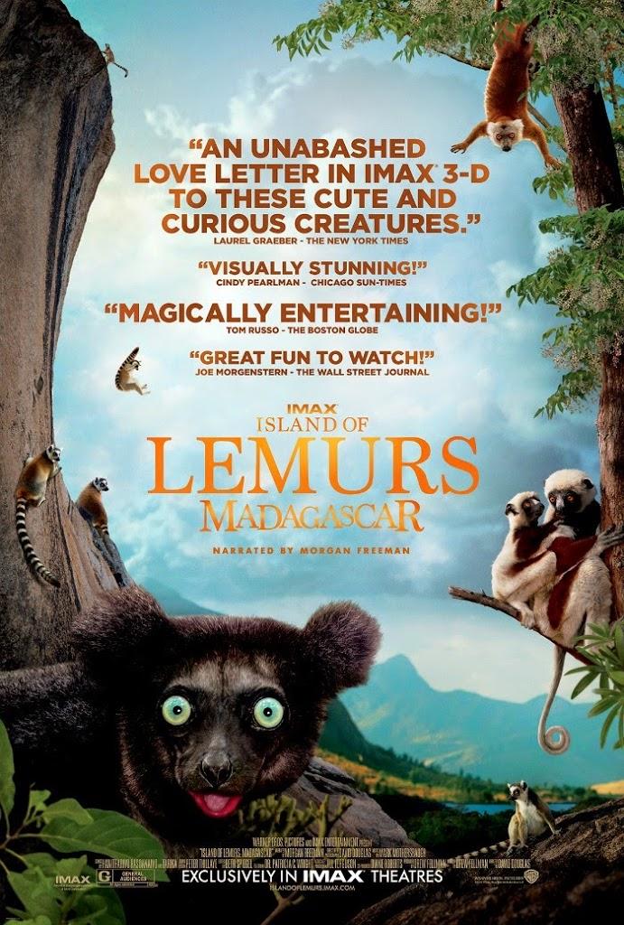 Island of Lemurs: Madagascar movie // livingmividaloca.com #IslandsofLemurs