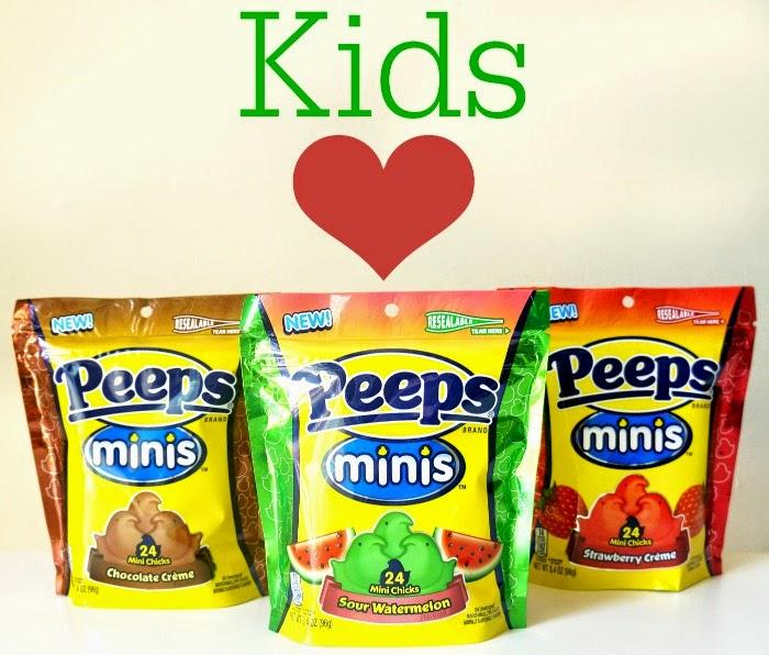 Kids love Peeps minis // livingmividaloca.com