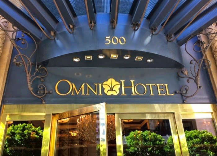 Omni Hotel on California Street (photo credit: Pattie Cordova)