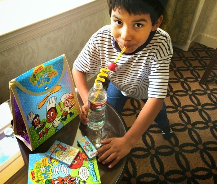 Omni Ktichen Kids backpack // livingmividaloca.com #LMVLtravels
