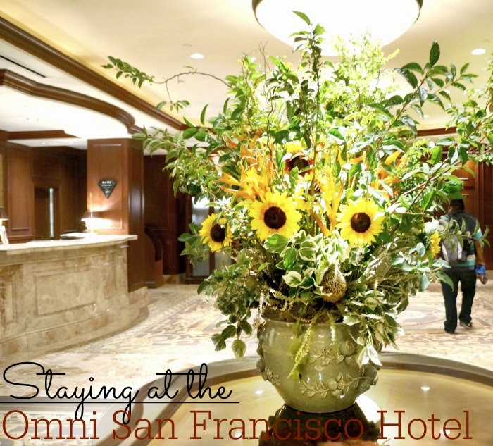 Staying at the Omni San Francisco Hotel // LivingMiVidaLoca.com #LMVLtravels