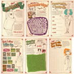 The Boxtrolls activity sheets