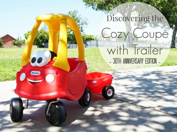 Discovering the Cozy Coupe 30th Anniversary Edition // livingmividaloca.com