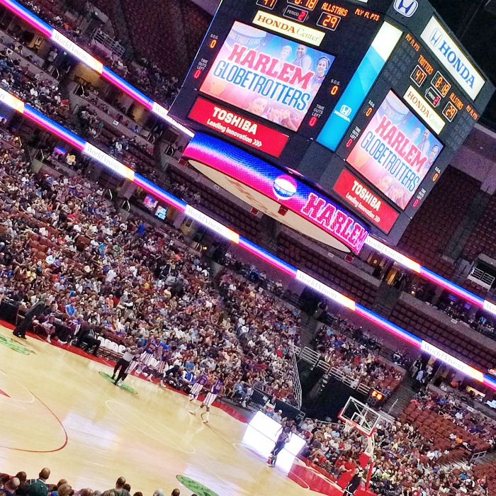 Harlem Globetrotters at Honda Center