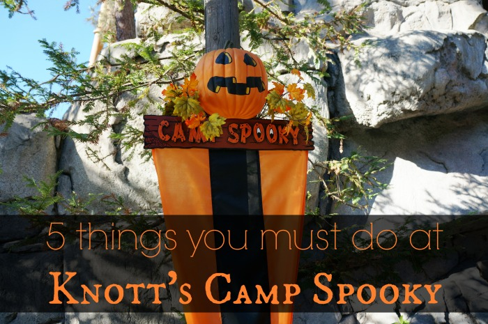 5 things you must do at Knott's Camp Spooky