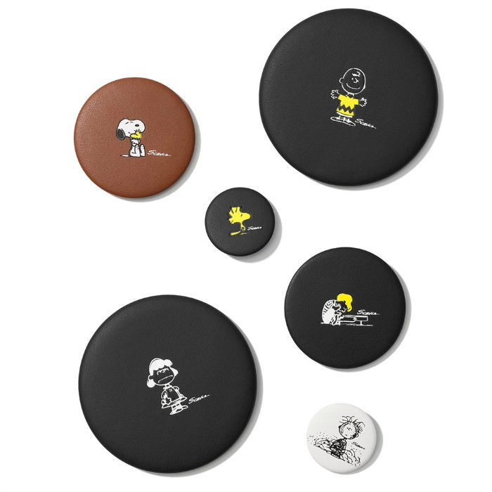 Snoopy Leather Pins