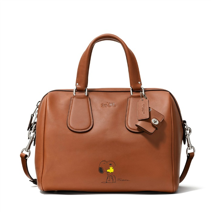 Snoopy Surret Satchel Saddle Handbag