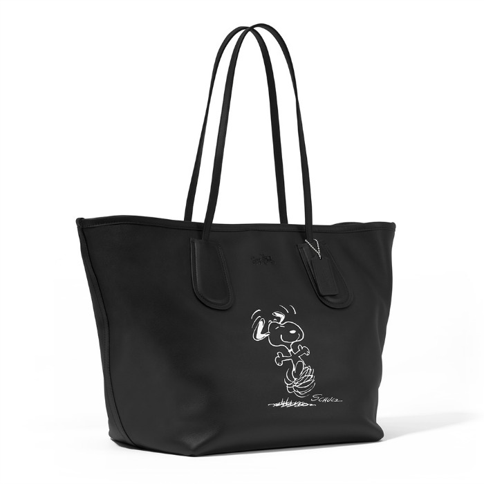 Snoopy Taxi Tote Bag