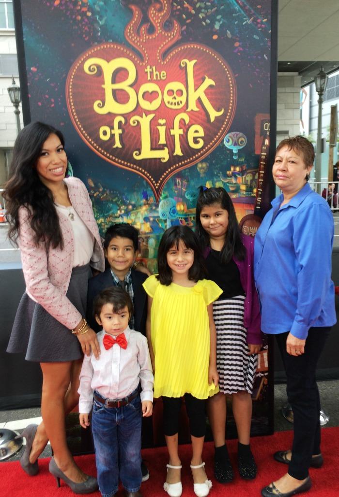 Pattie Cordova at Book of Life red carpet premier
