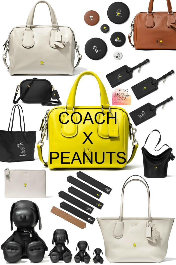 Limited edition Coach x Peanuts collection