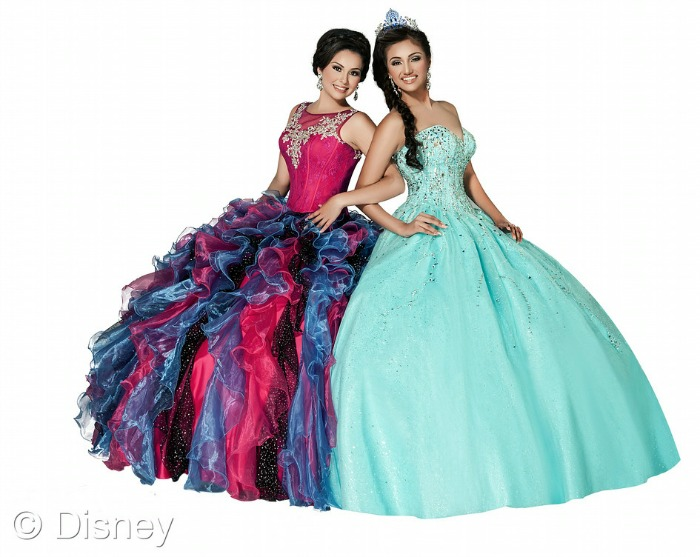 The 2015 Quinceañera line from Disney Royal Ball | Living Mi Vida Loca