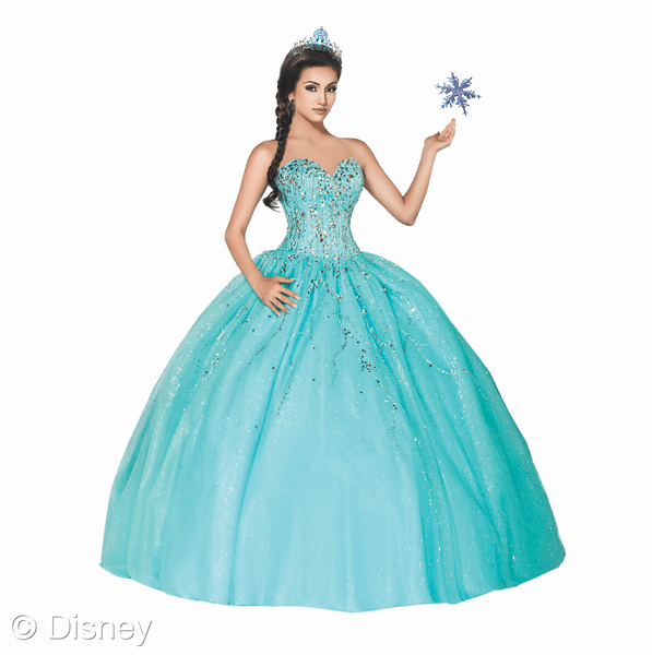Elsa - Disney Roya Ball dress // livingmividaloca.com