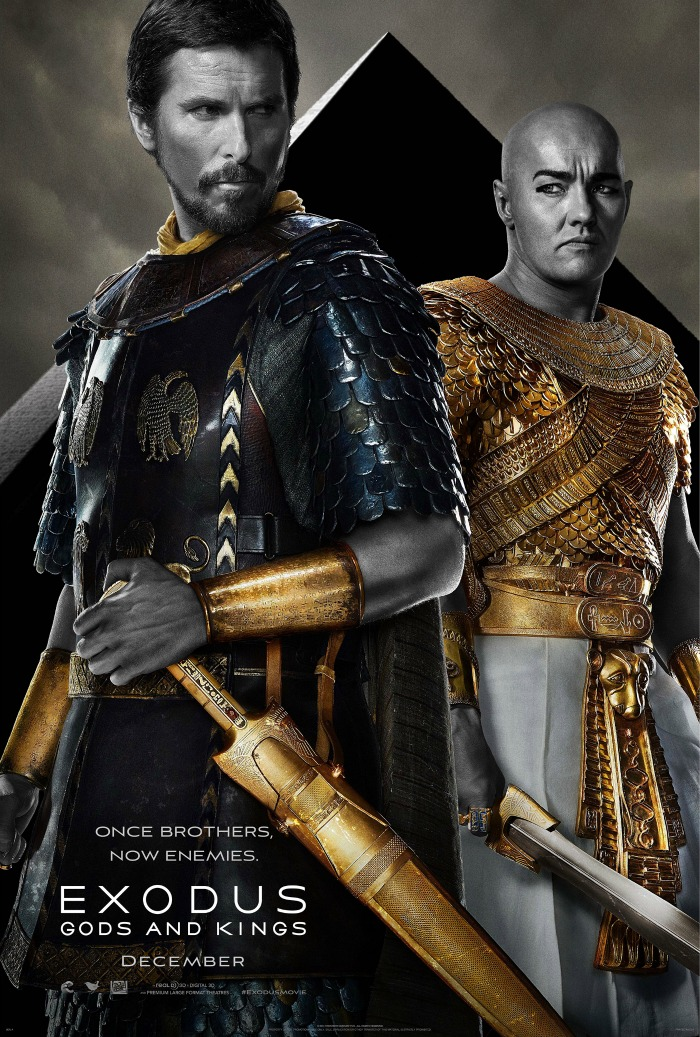 Exodus Gods and Kings Poster