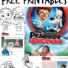 Mr Peabody and Sherman Free Activity Sheets printables