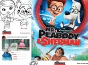Mr Peabody and Sherman Free Activity Sheets printables