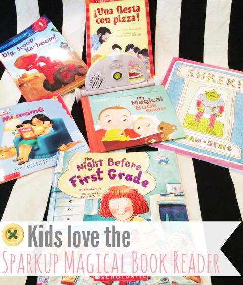Kids love Sparkup Magical Book Reader
