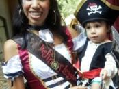 Pirates makeup at Disneyland Resort