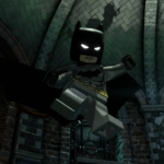 LEGO Batman bat suit