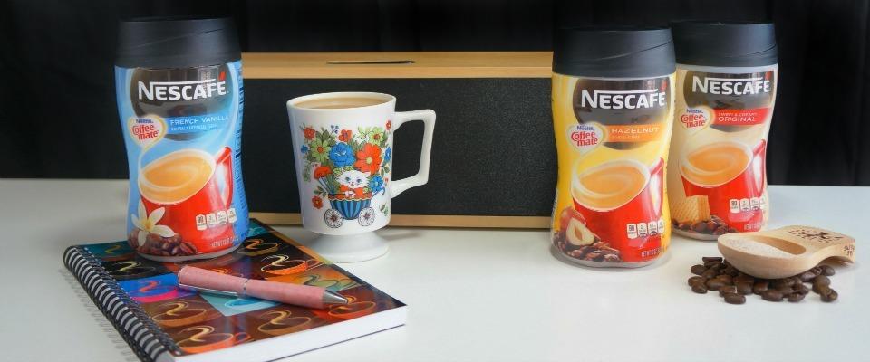 Nescafé with Coffee-mate