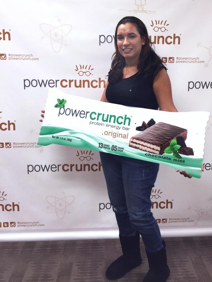 Belinda Espinoza at Power Crunch event