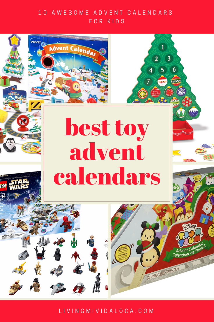 advent calendars with toys that are under 50 and. Black Bedroom Furniture Sets. Home Design Ideas