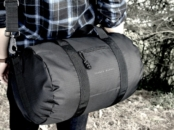 Bomber Barrel Duffel Bag for men // livingmividaloca.com