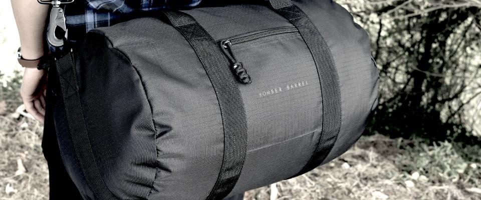 Gift Idea // Bomber Barrel Bag