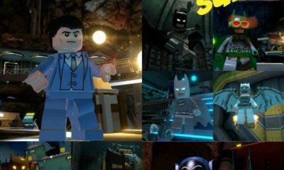 LEGO Batman 3: Beyond Gotham Batman Suits