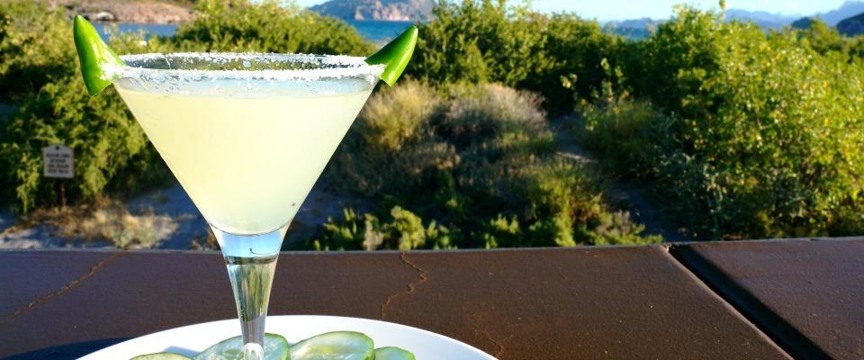 Recipe // Green Chili Martini