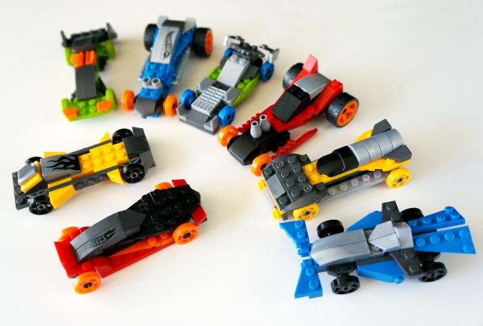 Mega Bloks Hot Wheels race car set // livingmividaloca.com