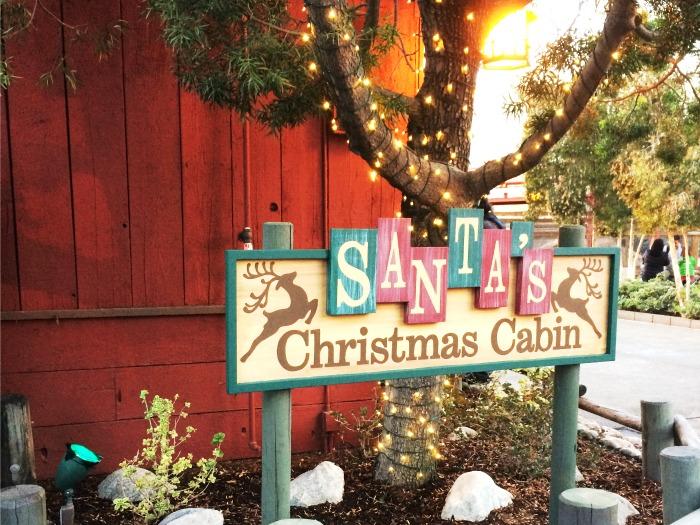 Santa's Christmas Cabin at Knott's Berry Farm