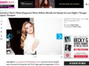 Willow Shields - Beauty Tutorial
