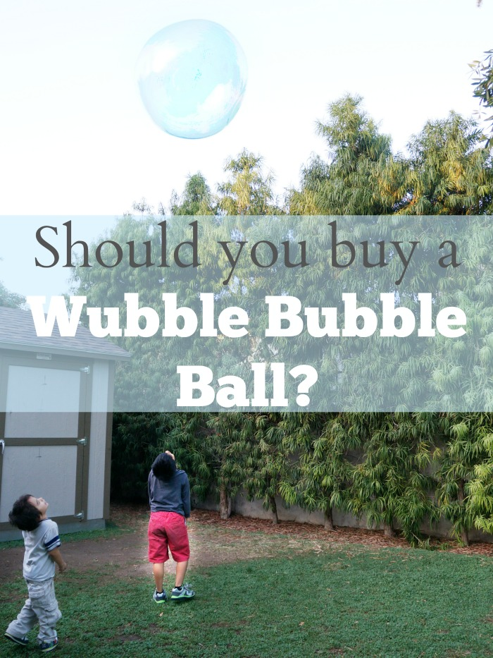 Should you buy a Wubble Bubble Ball?