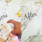 Before and After effects after using Dreft pen // LivingMiVidaLoca.com