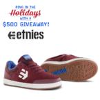Etnies holidays giveaway