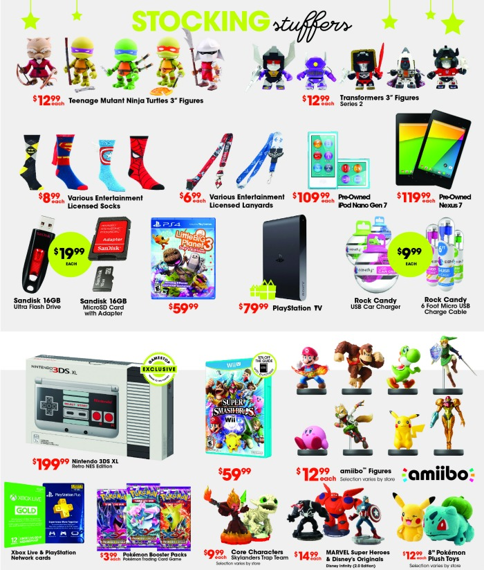Game Stop stocking stuffers ideas // livingmividaloca.com