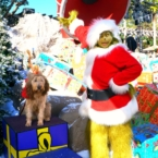 Grinch and Max at Universal Studios Hollywood