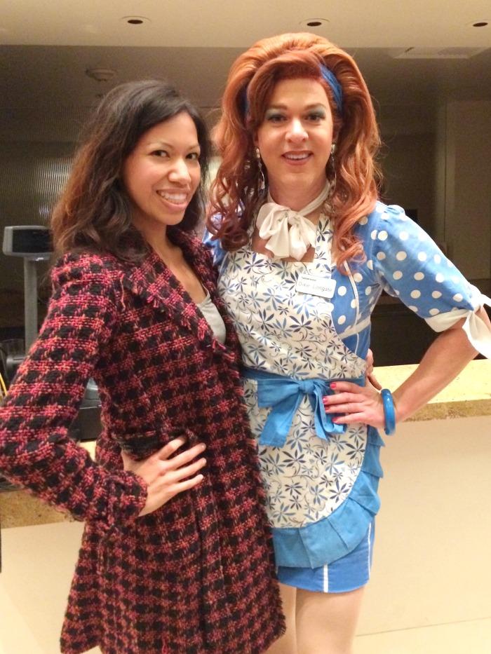 Pattie Cordova and Dixie Longate
