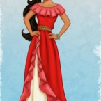 Elena of Avalor - Latina princess on Disney Jr.