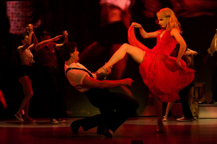 Segerstrom Center - Samuel Pergande (Johnny) and Jenny Winton (Penny) in the North American tour of DIRTY DANCING – THE CLASSIC STORY ON STAGE - Photo by Matthew Murphy