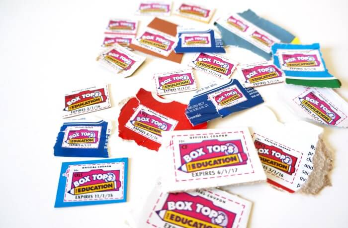 Box tops coupons