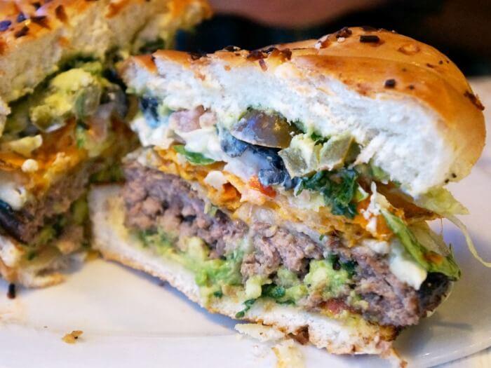 Cheeseburger nacho cheeseburger