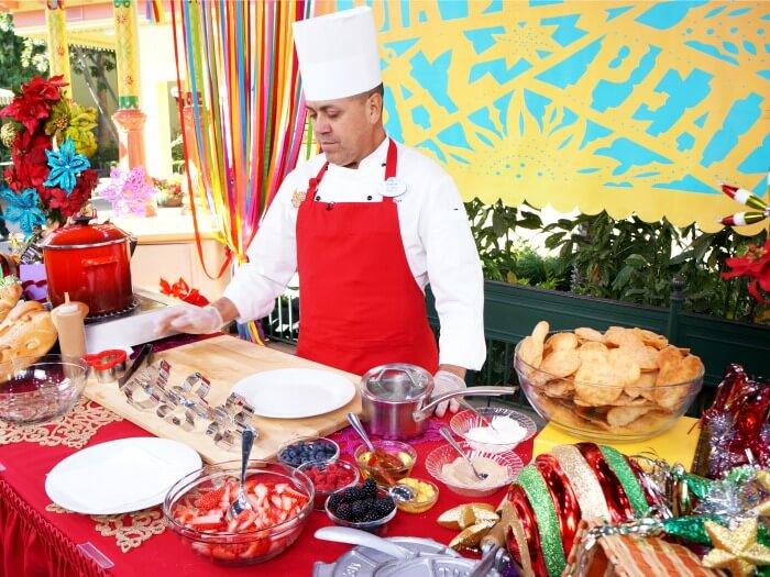Chef Juan at Disneyland Resort